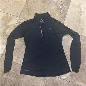 Nike DriFit black zipper pullover